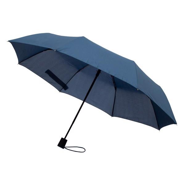 Składany parasol sztormowy Ticino - Granatowy