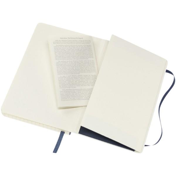 Classic PK soft cover notebook - squared - Sapphire Blue