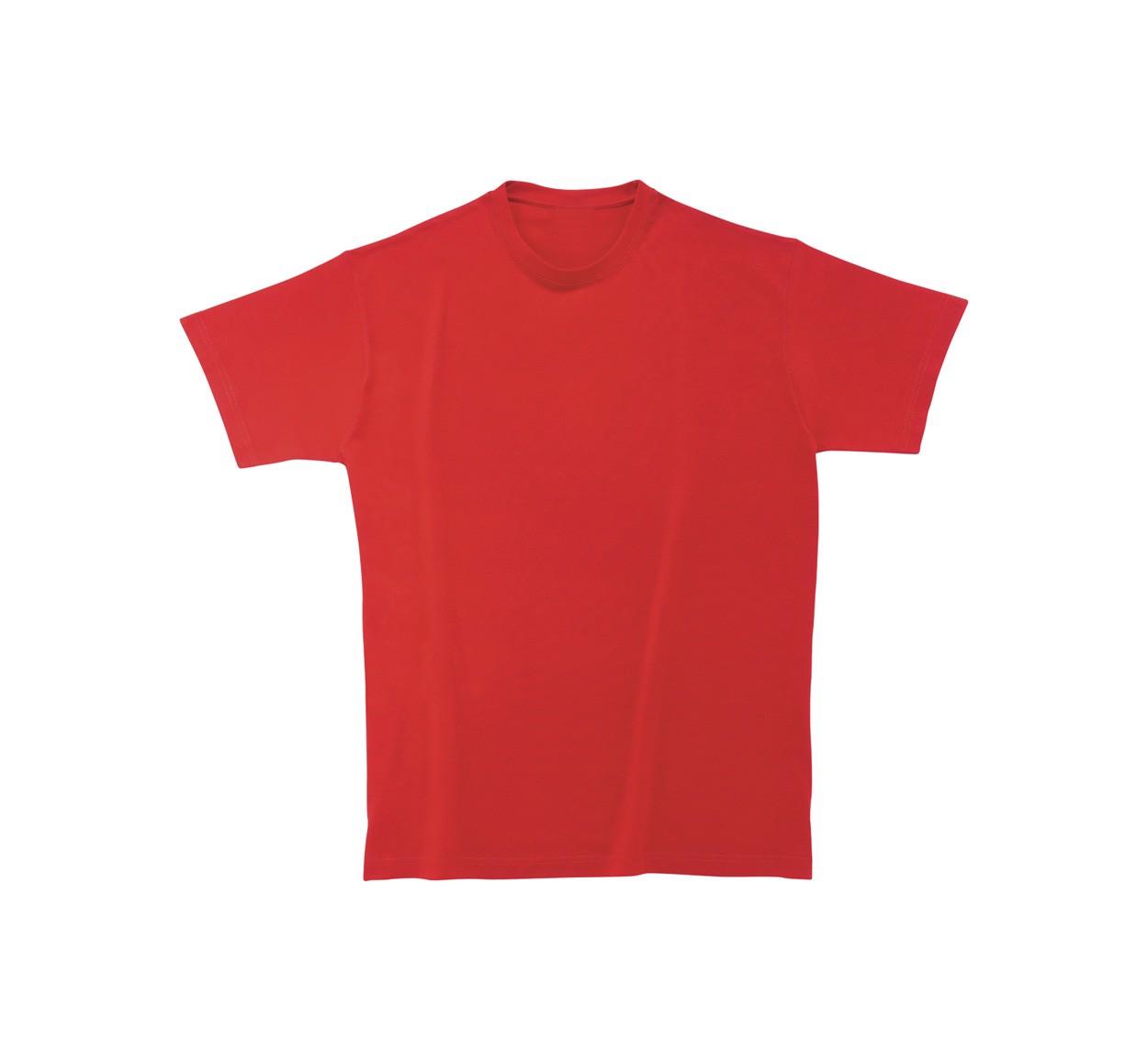 Tričko Heavy Cotton - Červená / XXL