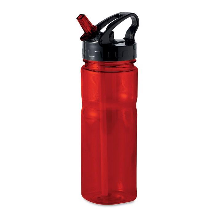 500 ml PCTG bottle Nina - Transparent Red