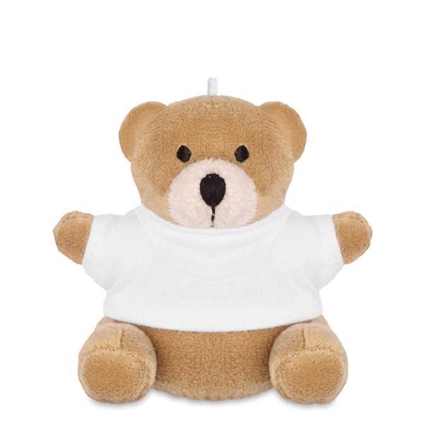 Teddy bear Nil - White