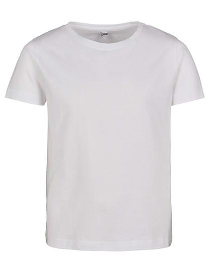 Girls Short Sleeve Tee - White / 122/128