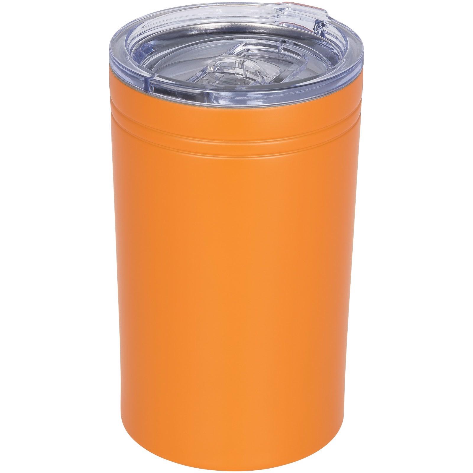 Termohrnek a termoska Pika 330 ml s vakuovou izolací - 0ranžová