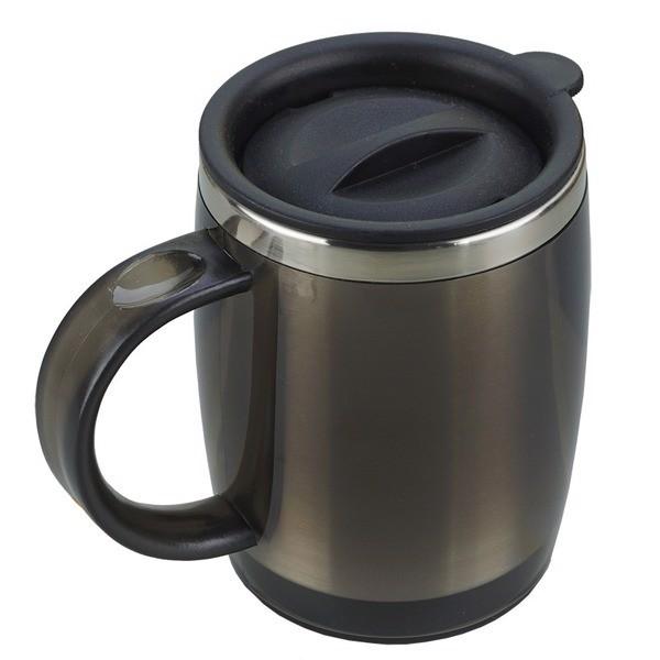 Kubek izotermiczny Barrel 400 ml - Grafitowy
