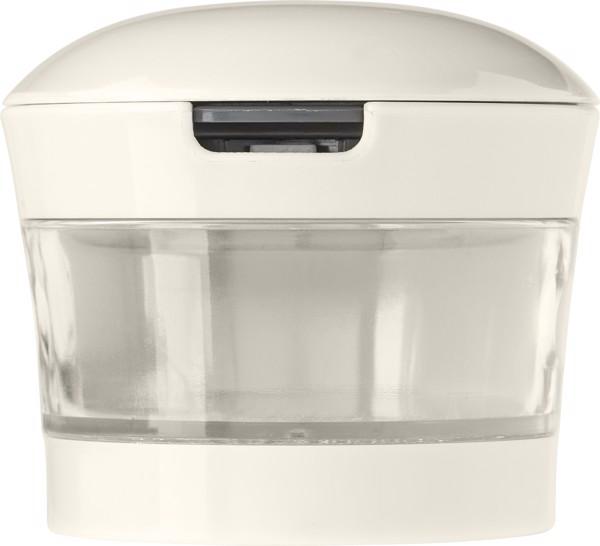 Knoblauchpresse 'Kitchen' aus Kunststoff - White