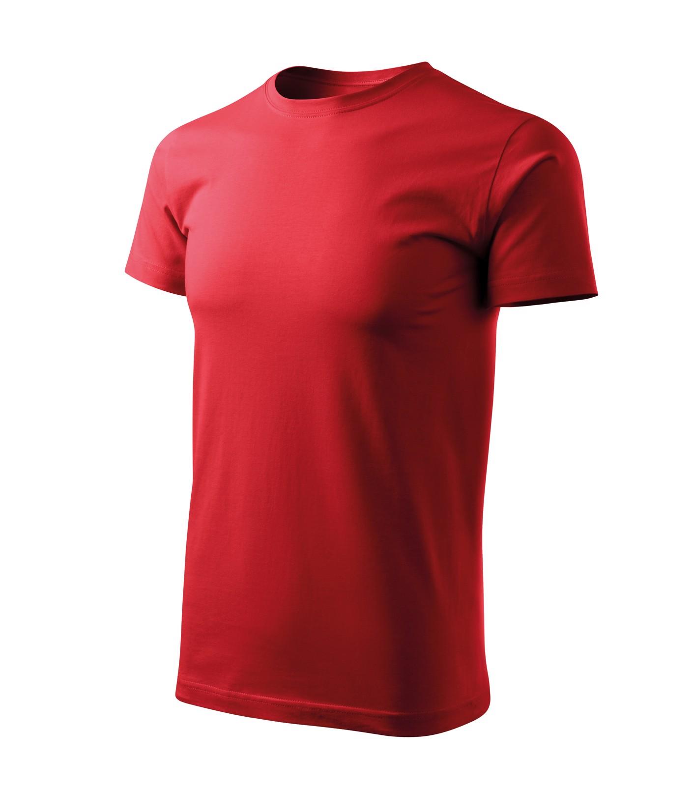 Tričko pánské Malfini Basic Free - Červená / 2XL