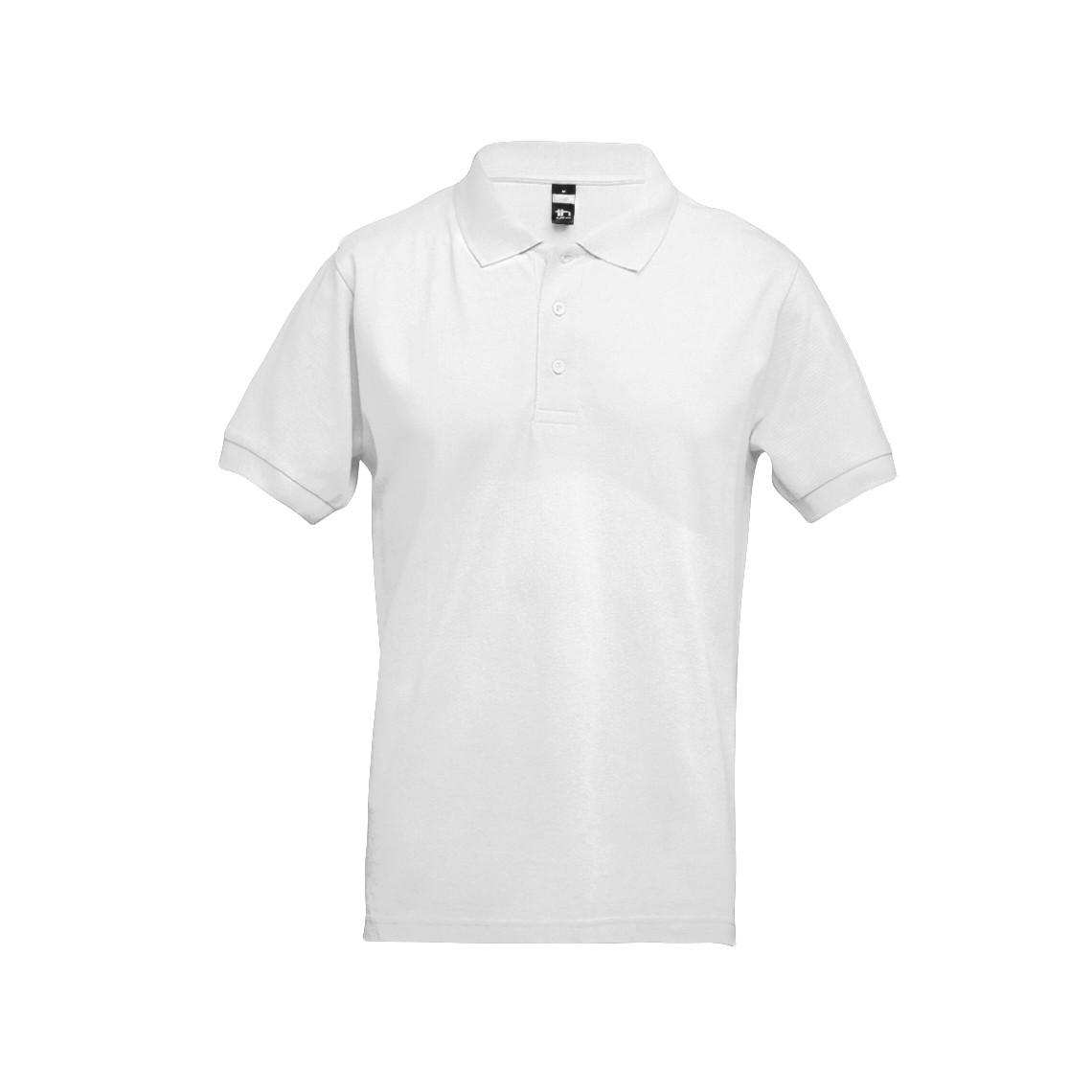 ADAM. Men's polo shirt - White / S