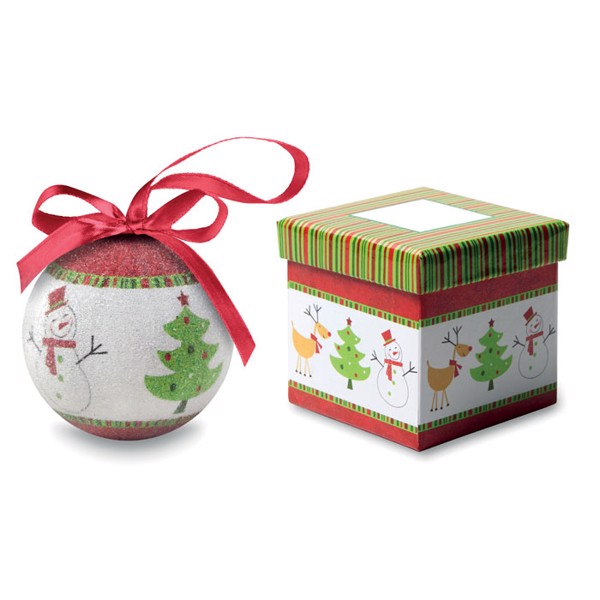 Christmas bauble in gift box Sweety