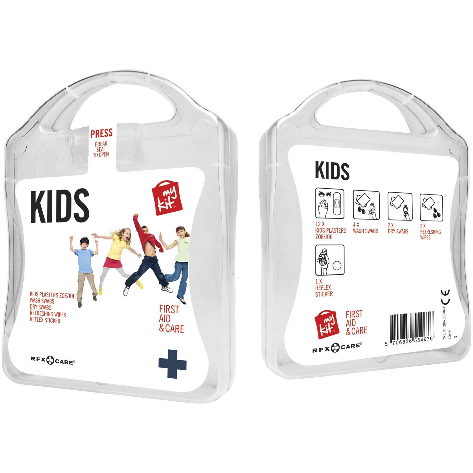 MyKit Kids First Aid Kit - White
