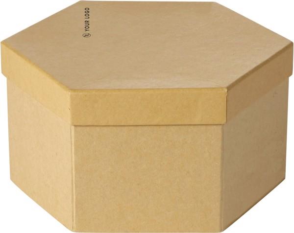 Cardboard box art set - Brown