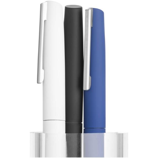 Milos soft-touch ballpoint pen - White