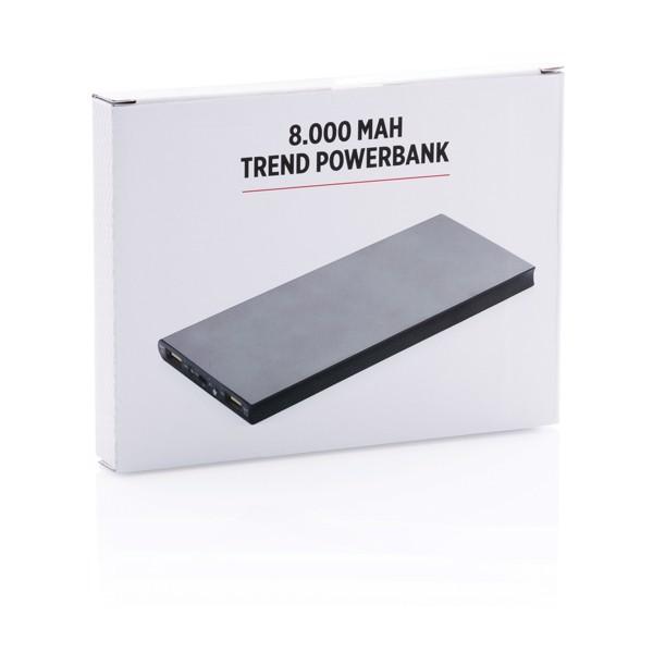 Powerbanka 8 000 mAh - Černá