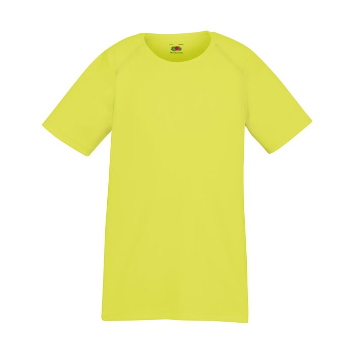 Kinder T-Shirt Sport Kids Performance 61-013-0 - Bright Yellow / M