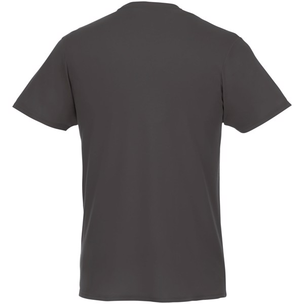 Jade short sleeve men's GRS recycled T-shirt - Storm grey / L