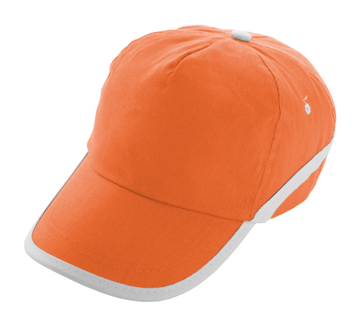 Baseballová Čepice Line - Oranžová