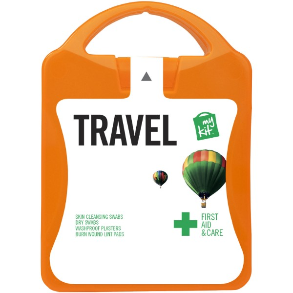 MyKit Travel First Aid Kit - Orange