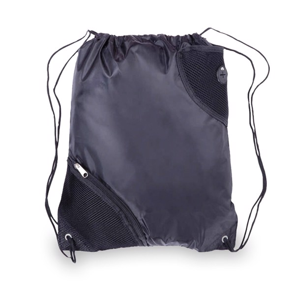 Drawstring Bag Fiter - Black