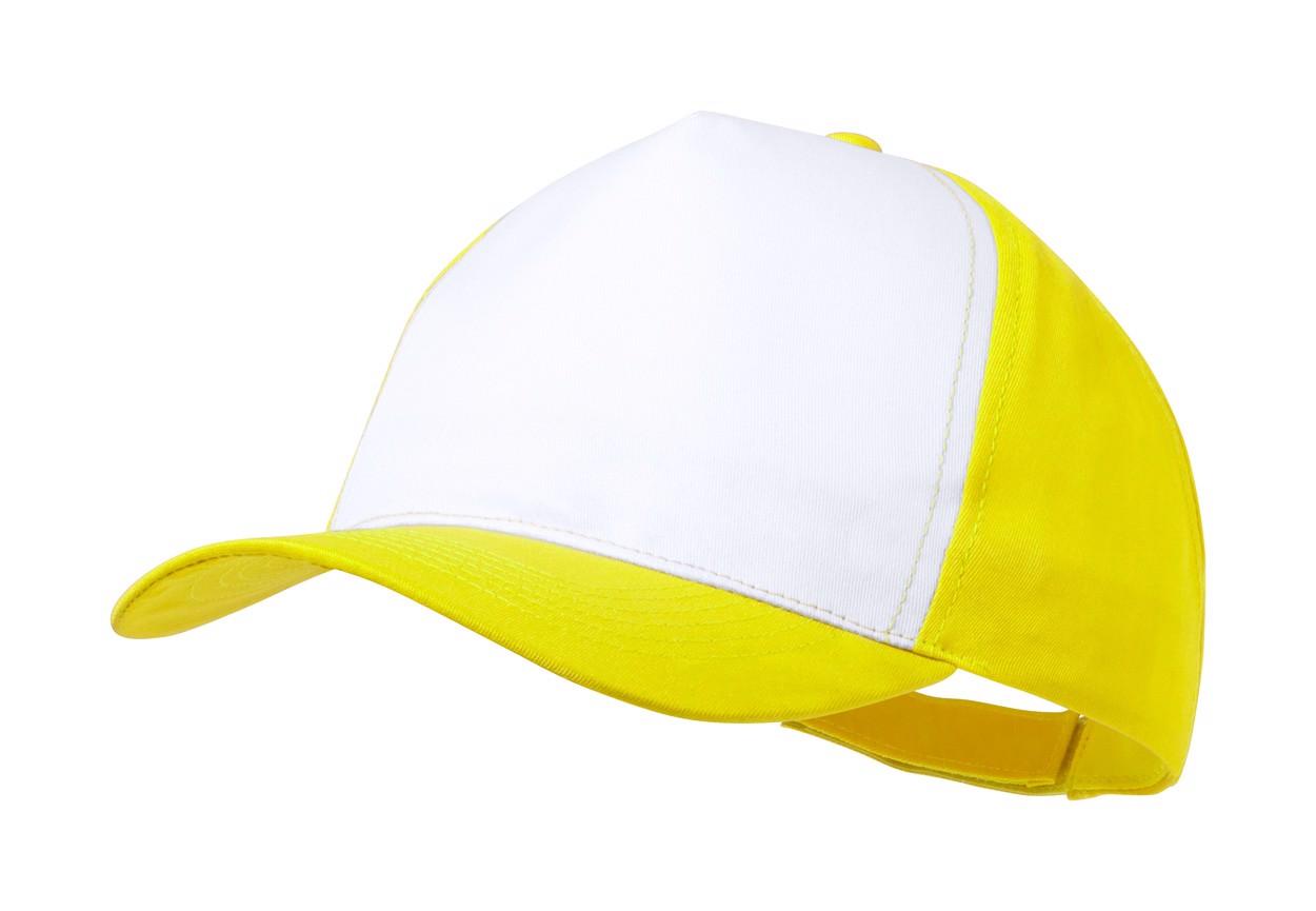 Baseballová Čepice Sodel - Žlutá