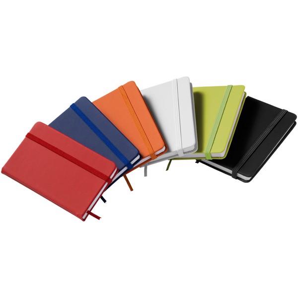 Rainbow A7 kleines Hard Cover Notizbuch - Weiss