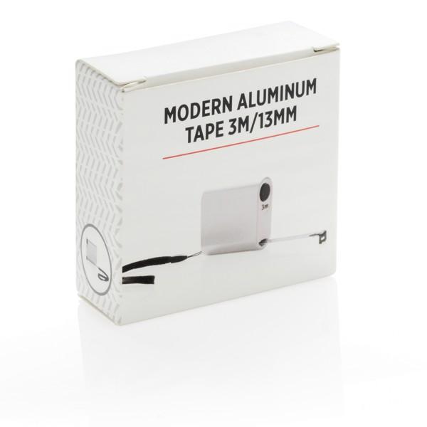 Modern alumínium mérőszalag - 3m/13mm