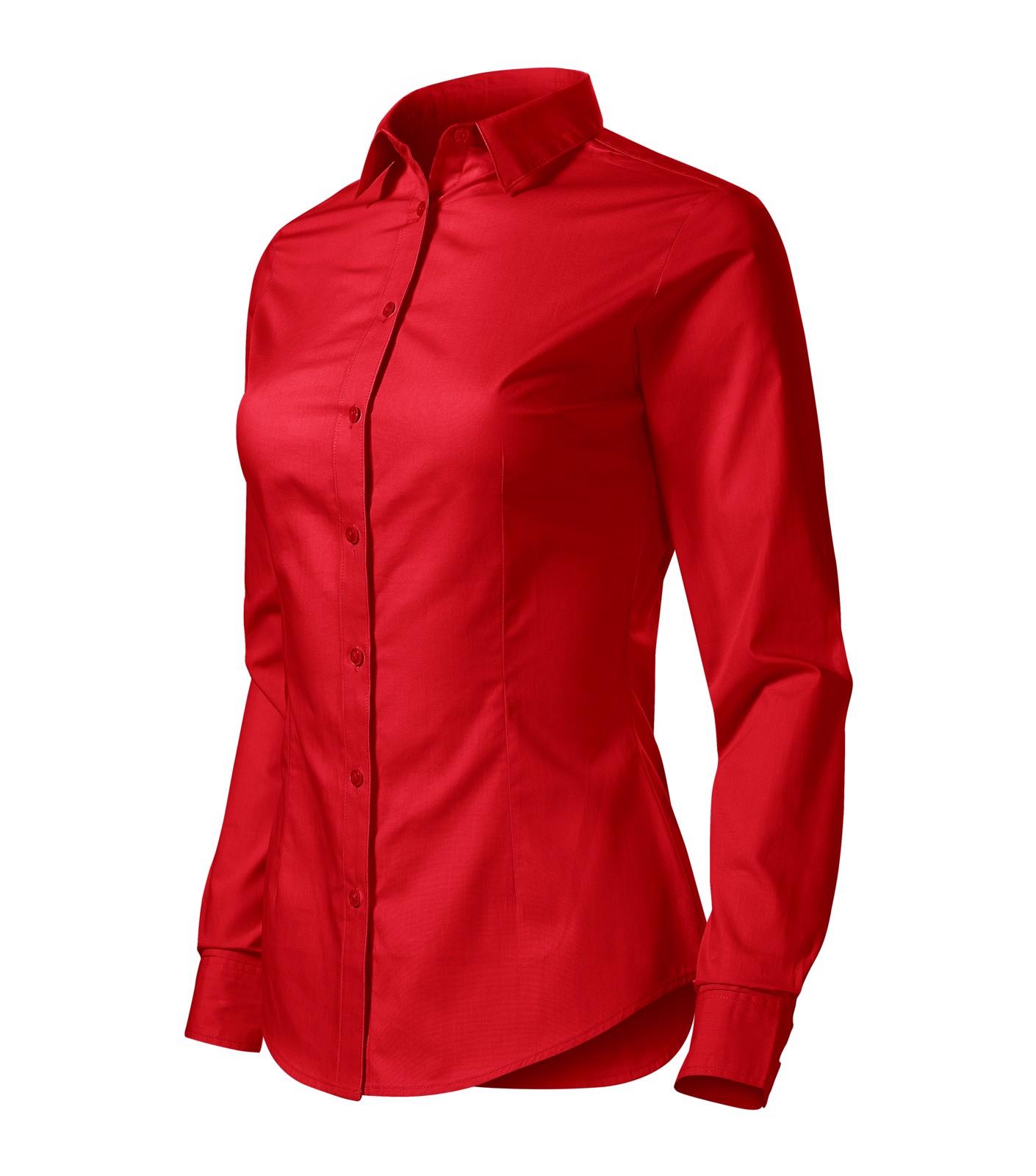 Košile dámská Malfini Style LS - Červená / S