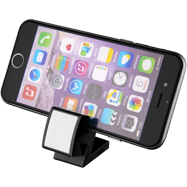 Dock multifunctional phone clip - Solid black