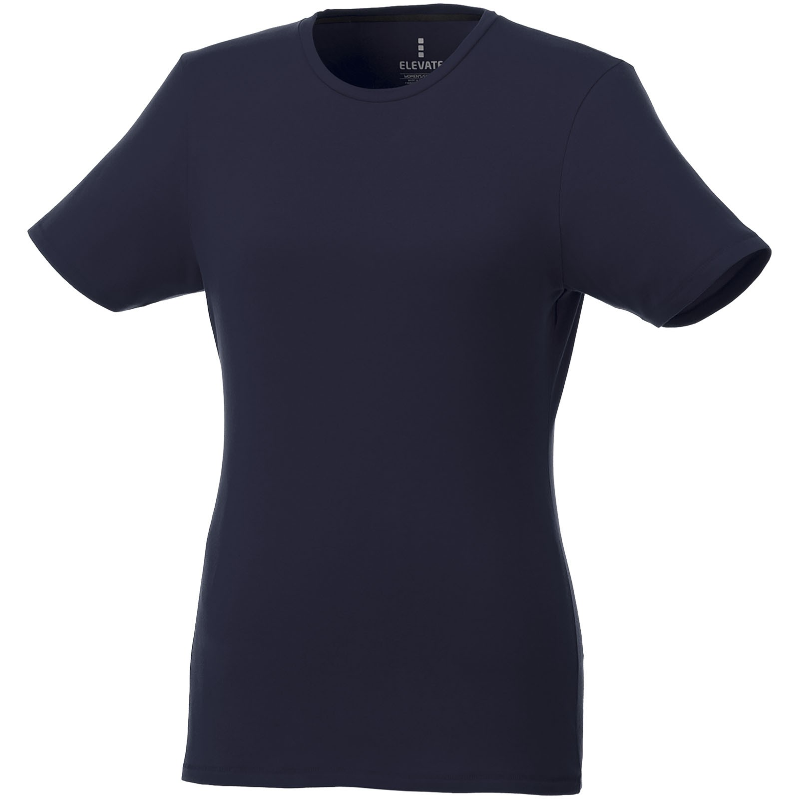 Balfour short sleeve women's GOTS organic t-shirt - Navy / M