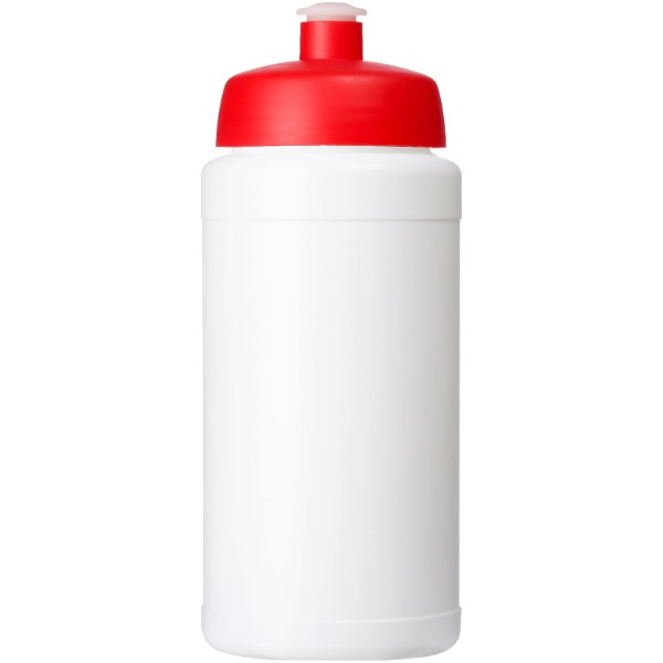 Baseline® Plus 500 ml bottle with sports lid - White / Red