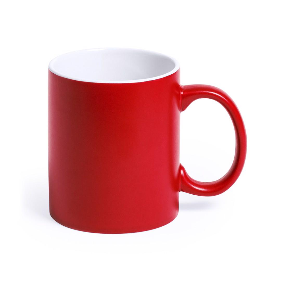 Chávena Lousa - Vermelho