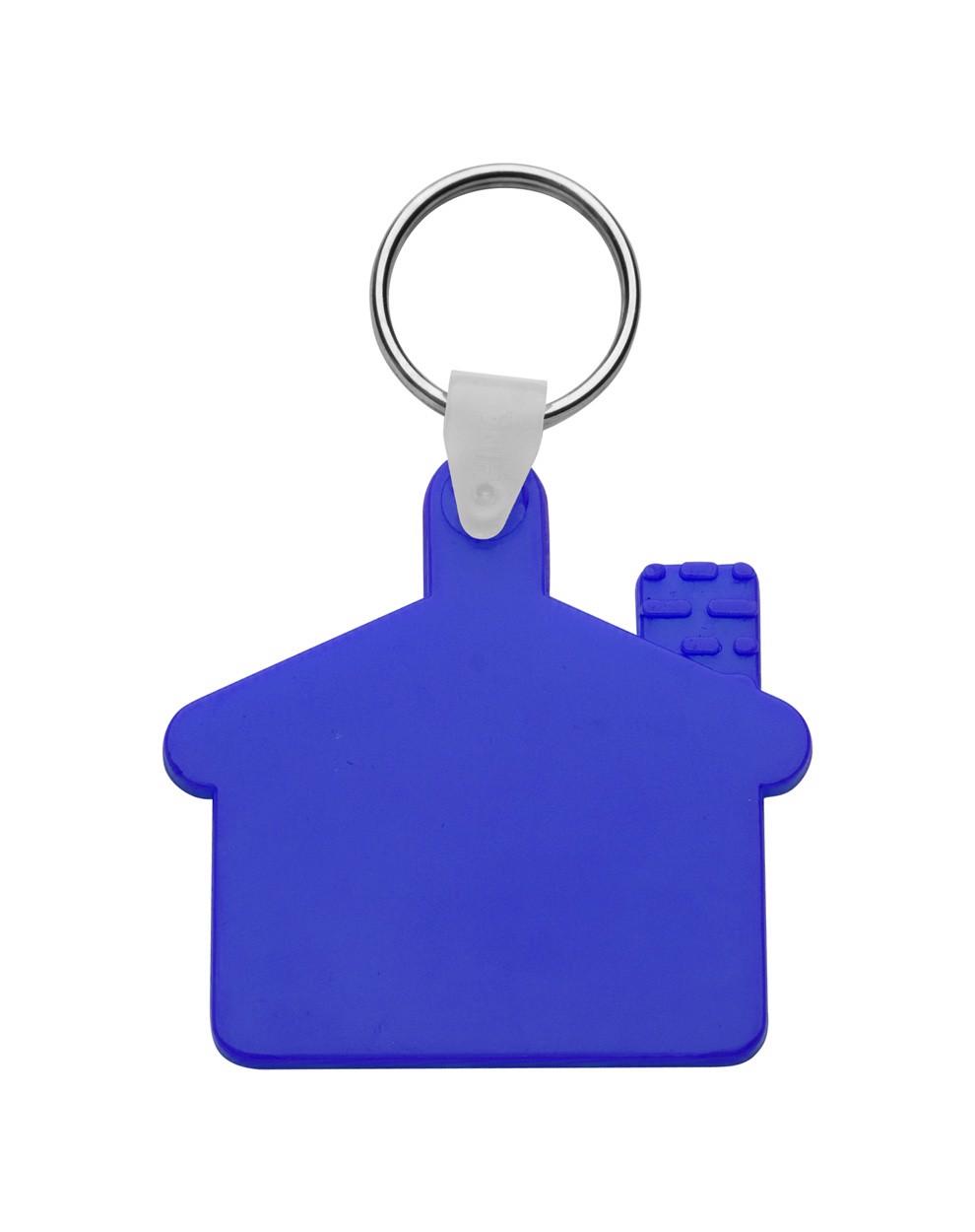Přívěšek Na Klíče Cottage - Modrá