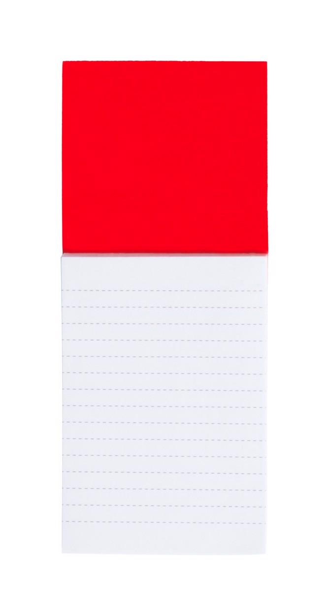 Blocnotes Magnetic Sylox - Roșu