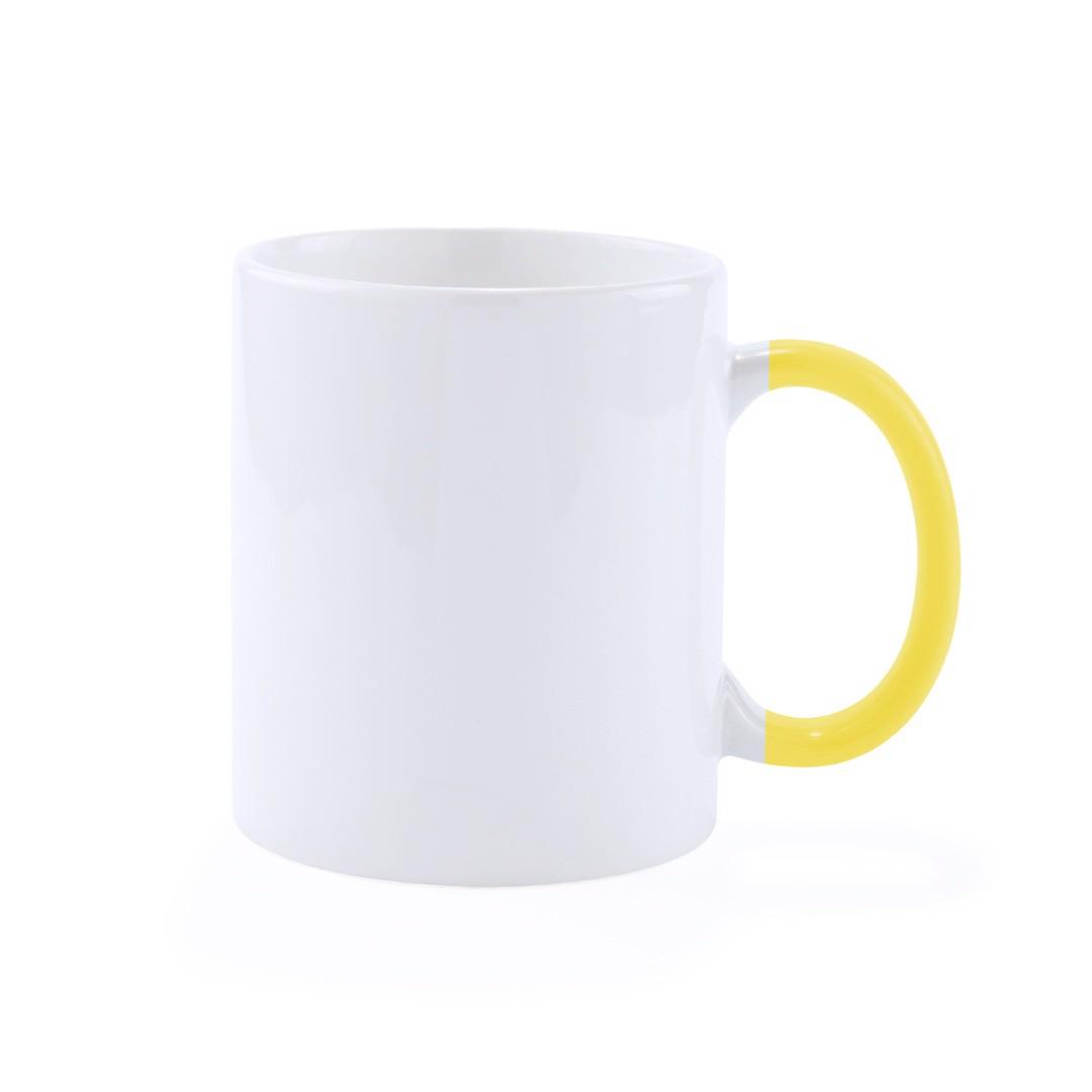 Chávena Plesik - Amarelo