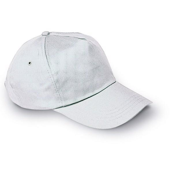 Čepice s kšiltem Glop Cap - white
