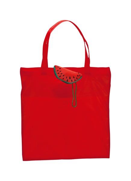 Geantă Cumpărături Velia, Pepene Verde - Roșu