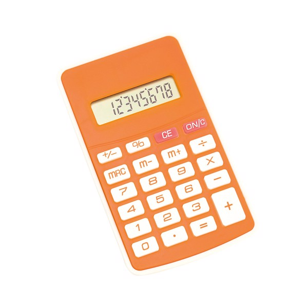 Calculator Result - Orange
