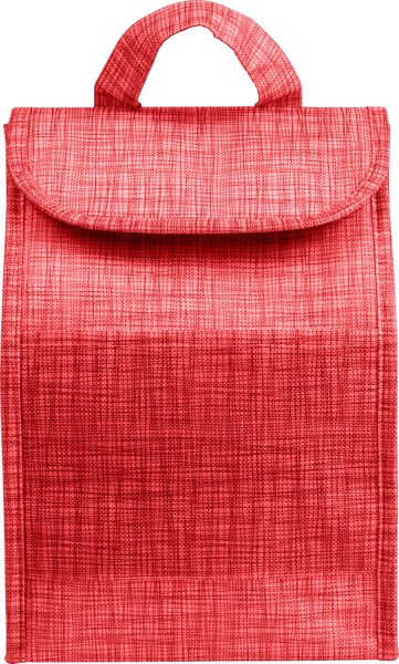 Nonwoven (70 gr/m²) cooler bag - Red