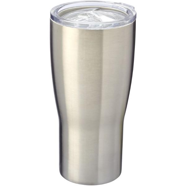Vakuový termohrnek Nordic - Stříbrný