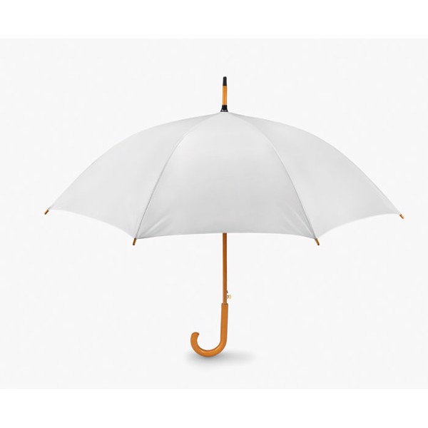 23.5 inch umbrella Cumuli - White