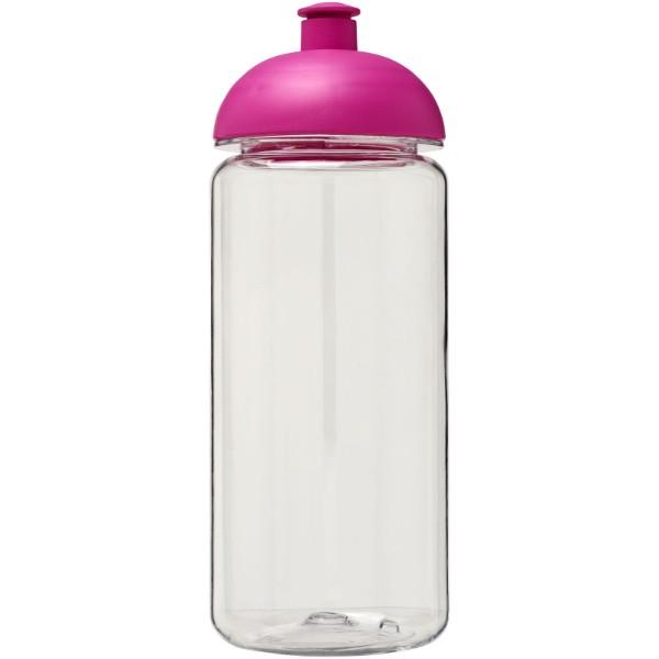 H2O Octave Tritan™ 600 ml dome lid sport bottle - Transparent / Pink
