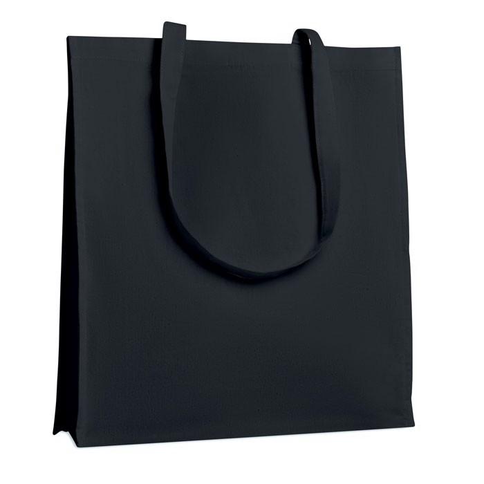 Bawełniana torba na zakupy Trollhattan - czarny