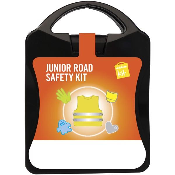 MyKit M Junior Road Safety kit - Solid Black