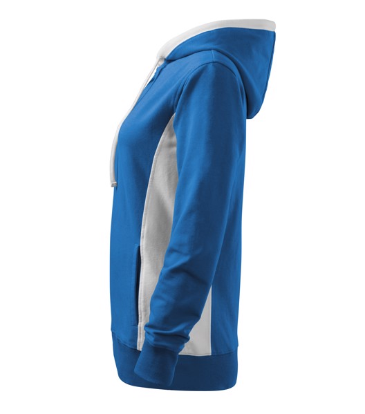 Sweatshirt women's Malfini Kangaroo - Azure Blue / L