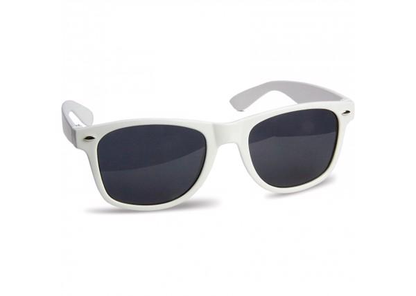 Sunglasses Justin UV400 in polybag - White