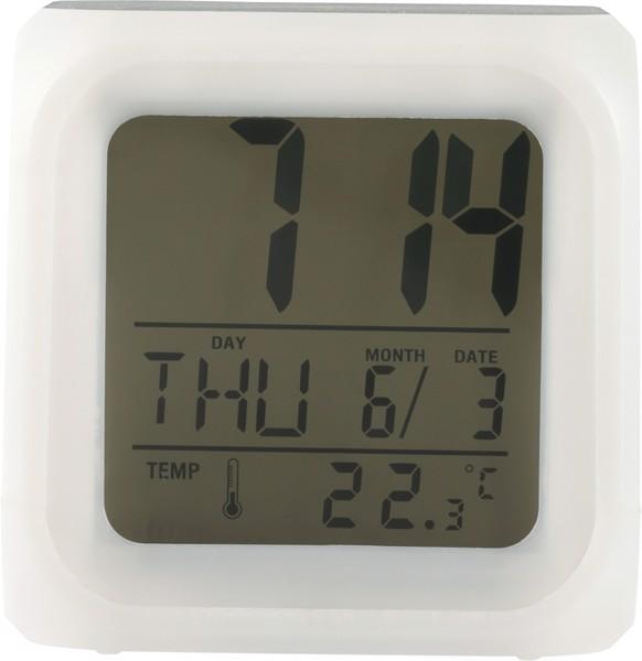 Reloj despertador de HIPS