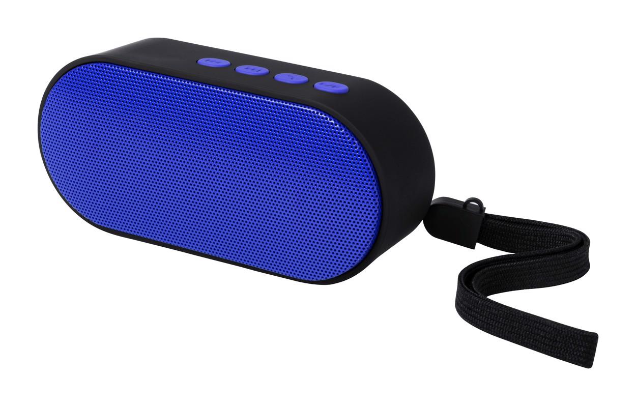 Bluetooth Reproduktor Helber - Modrá / Černá