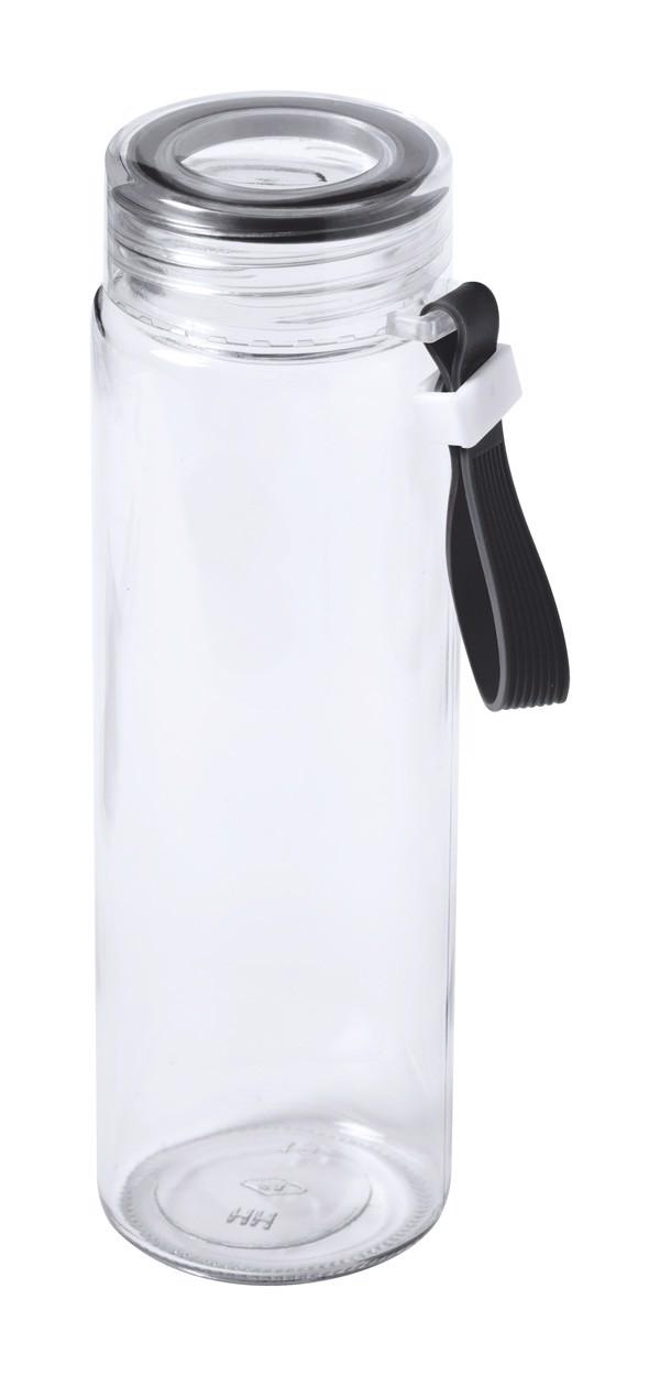 Sport Bottle Helux - Black / Transparent