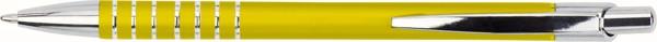 Aluminum ballpen - Yellow