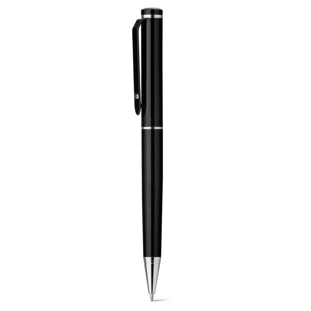 CALIOPE SET. Roller στυλό και θήκη καρτών - Μαύρο