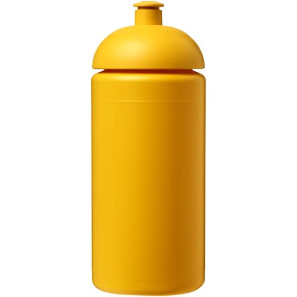 Sportovní láhev s kupolovitým víčkem Baseline® Plus grip 500 ml - Žlutá
