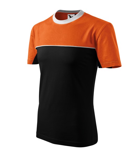 Tričko unisex Malfini Colormix - Oranžová / XL
